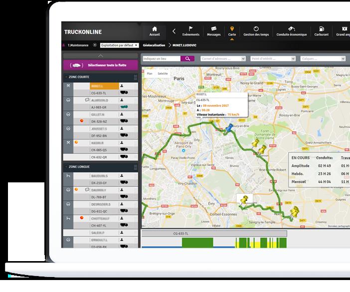 truckonline interface